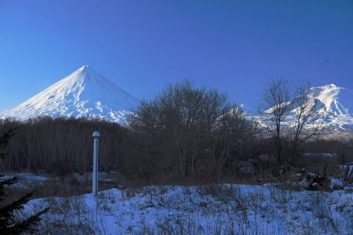 На территории Камчатской вулканостанции Роскосмос установил систему спутниковой связи GLONAS