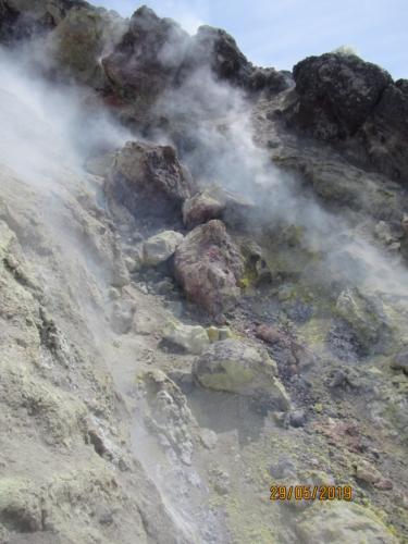 Работы на Авачинском вулкане
