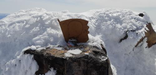 На вершине Корякского