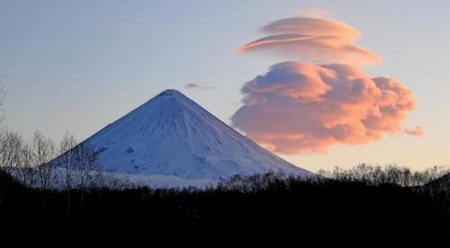 Облака над Ключевской