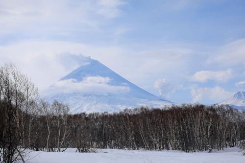 Ключевской вулкан (13.03.21). В Ключах прурга