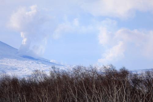 Побочный прорыв Ключевского вулкана (13.03.21). В Ключах прурга