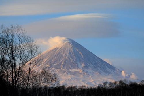 Ключевской вулкан (14.03.21)