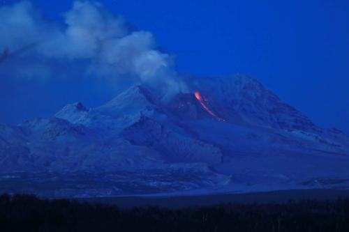 Извержение Шивелуча