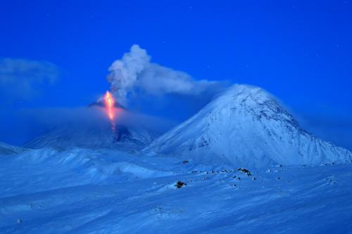 Извержение Ключевского
