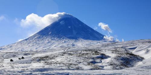 Ключевской вулкан (09.03.21)